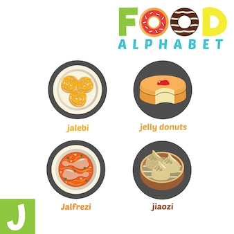 Food alphabet