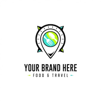 Продовольствие и путешествия logo place holder