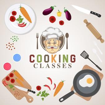 Food background design
