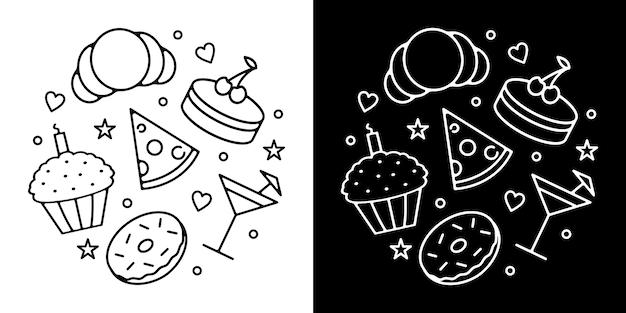 Food badge design