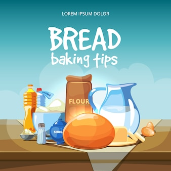 Food baking ingredients