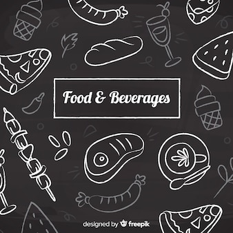 Food and beverage background