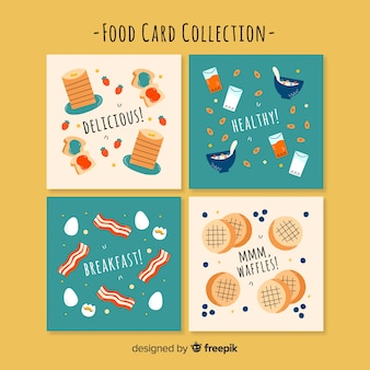 Food card collection