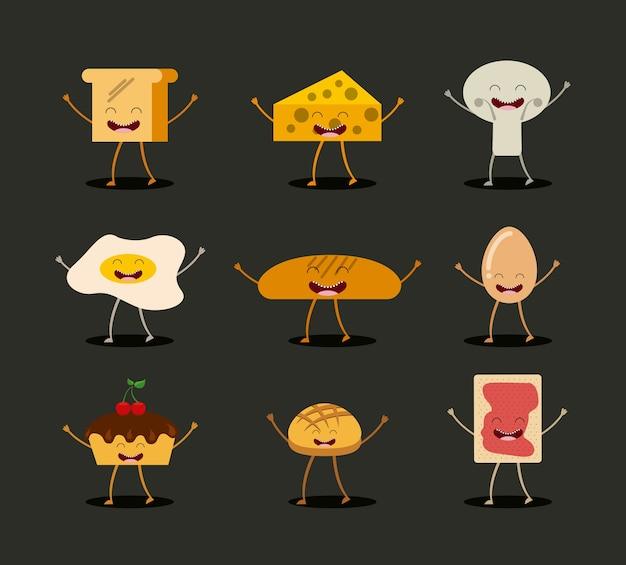 Food character design