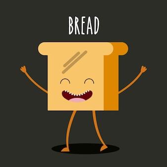 дизайн персонажа пищи