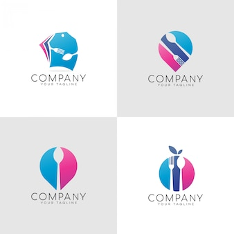 Food color logo