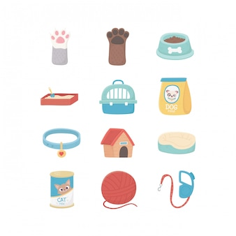 Food cushion and case, pets