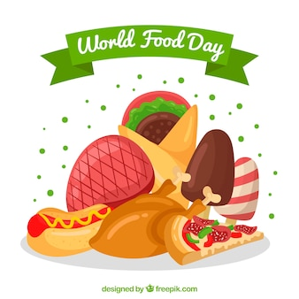 Food day background