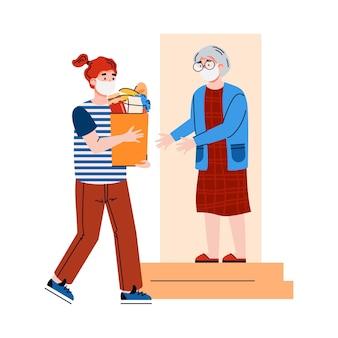 パンデミック時の高齢者へのフードデリバリーケアの支援とサポート