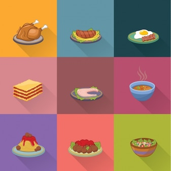 Food designs collection