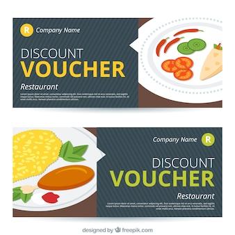 Food discount vouchers