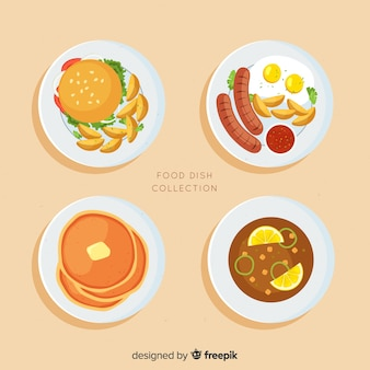 Food dishes set
