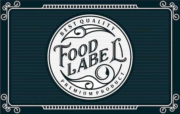 Food and drink label