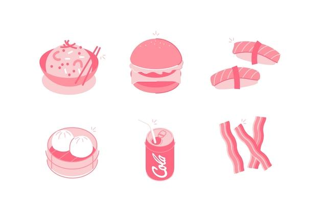 음식 및 음료 그림