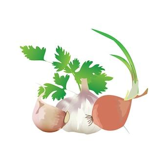 태국에서 거의 모든 범주에 사용되는 식품 성분.
