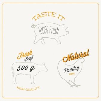 Пищевая дизайн логотипа