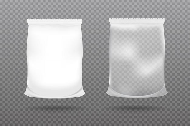 Food packaging of paper or foil