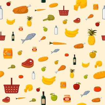 Food pattern design