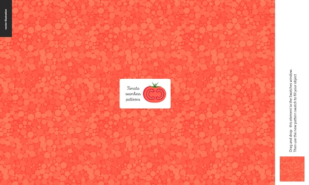 Food pattern of tomato