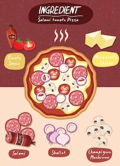 フードピザ具材セット