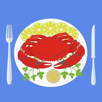 Food plate design