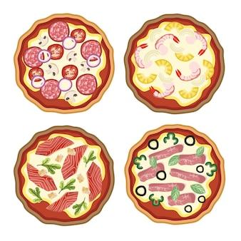 フードレストランピザ具材セット