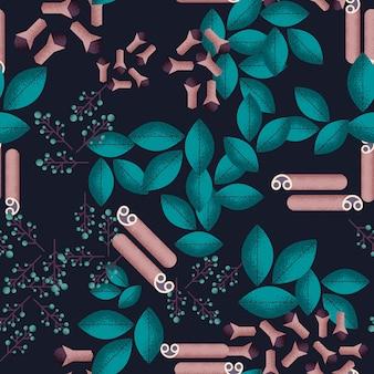 Food seamless pattern
