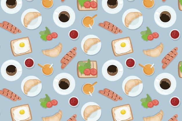 음식 원활한 패턴