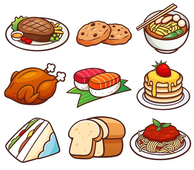 음식 세트