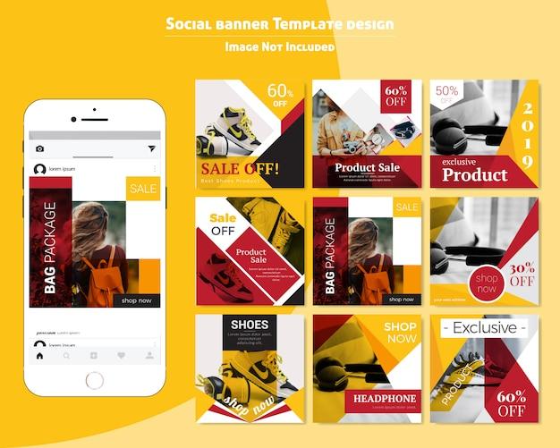 Еда социальные медиа опубликовать шаблон для ресторана
