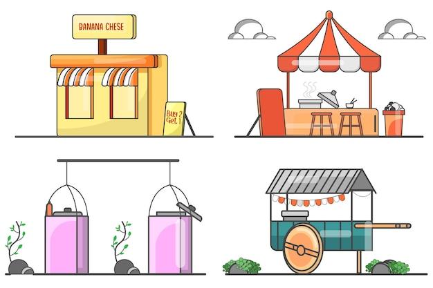 Продовольственные прилавки мультфильм