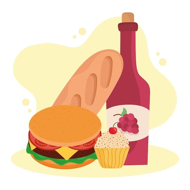 家で食べる食べ物