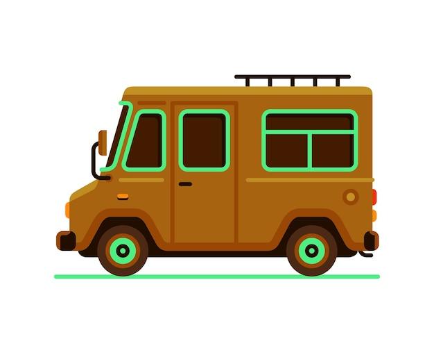 Автомобиль грузовик грузовик автомобиль вектор