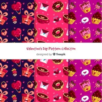 Food valentine patterns