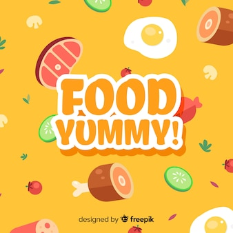 Food yummy background