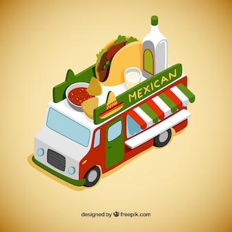 Мексиканский foodtruck