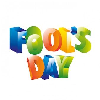 Fools day icon