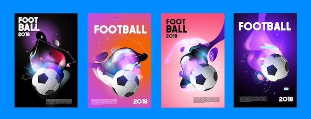 Football 2018 world championship cup background soccer.