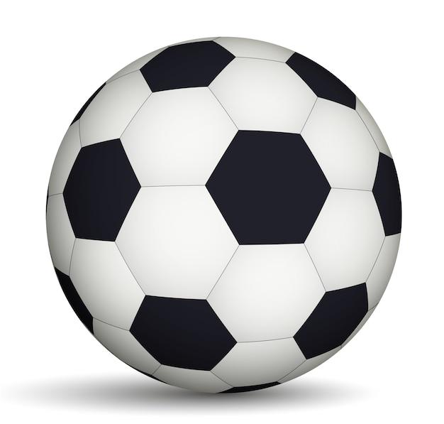축구 공 흑인과 백인
