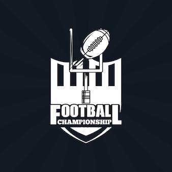 サッカー選手権のアイコン