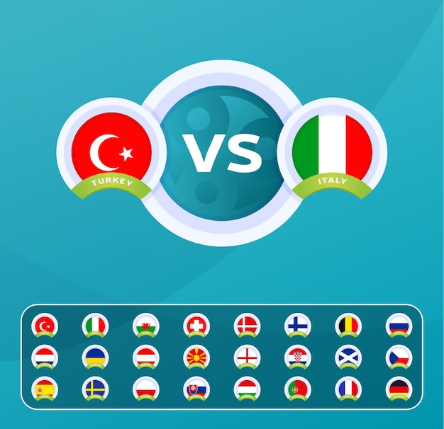 Матч чемпионата европы по футболу против команд