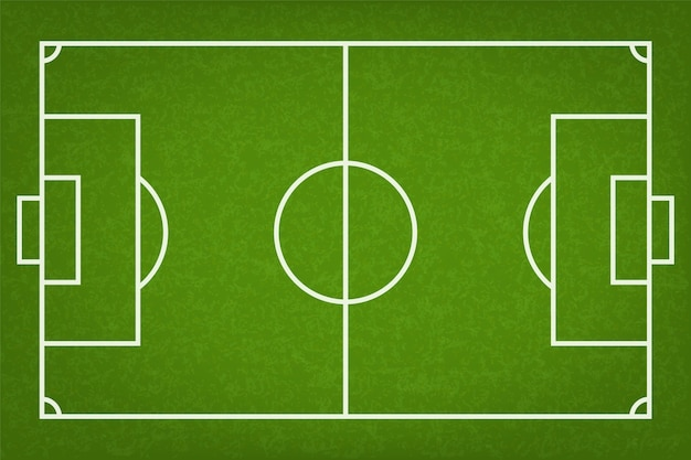 Football field or soccer field.