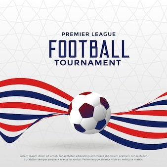 Football game championship tournament background