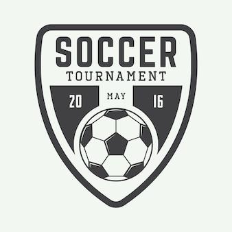 Football logo, emblem