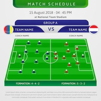 Football Match Schedule Template