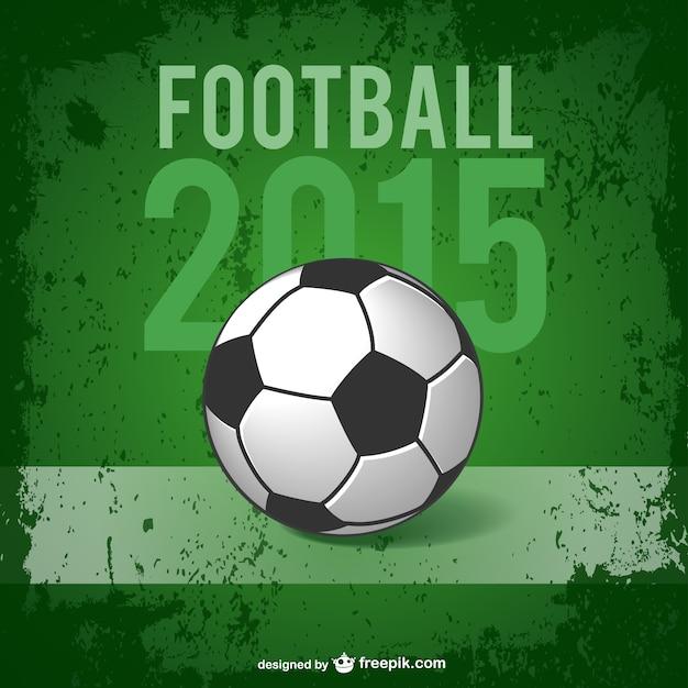 Football poster    vector Premium Vector