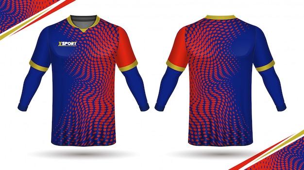 Football shirt template