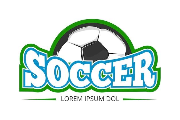 Football soccer club vector logo