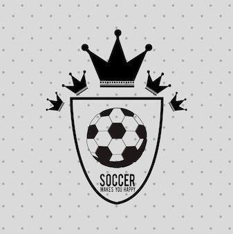 サッカーサッカーデザイン