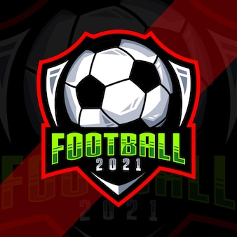 축구 축구 로고 디자인 서식 파일